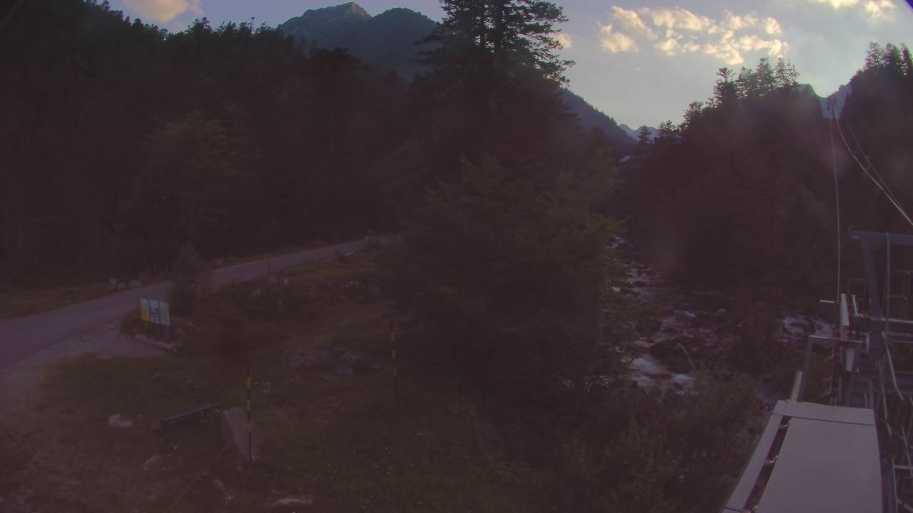 Webcam en Pont d`Espagne - TC du Puntas